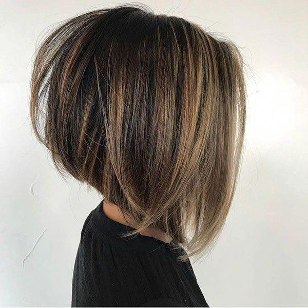 Stacked Bob Haircut 1 Die Besten Neuen Bob Frisuren 2019 Bobhairstyles Bob Frisur Haarschnitt Bob Haarschnitt