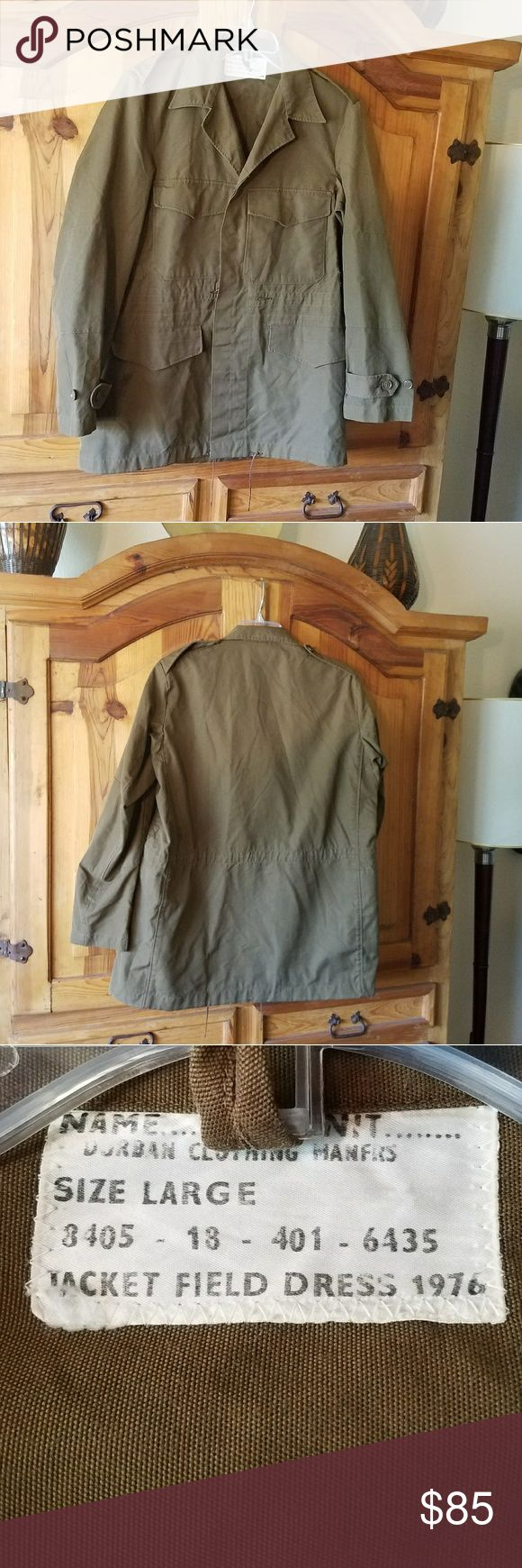 Military Field Jacket 1976 Military Field Jacket 1976. This 41 year old jacket is in like new condition. Jackets & Coats Military & Field
