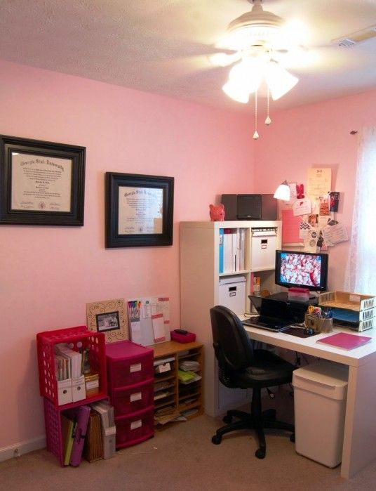 Elegant Feminine Home Office Design Office Design Pinterest Office Designs And Closet Office