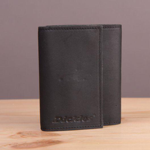 Czarny skórzany portfel Dickies Owendale / www.brandsplanet.pl / #dickies streetwear
