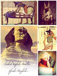 kitaplar:   Çakal Kafalı Anübis - Sfenks Heykeli… <!--[if !s...