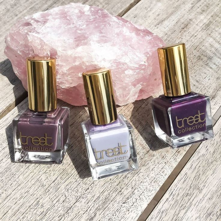 // T R E A T C O L L E C T I O N  Popping pigment and long-lasting shine in these #TreatCollection fabulously glossy nail polishes  The fast-drying formula also includes no nasties without any toluene formaldehyde resin dibutyl phthalate or camphor  Treat yourself to the range of beautifully deep plum shades so easy to apply with their long handle and extra wide brush to provide a flawless finish  SHOP now via http://ift.tt/1eTt18O  WE SHIP WORLDWIDE  by iamnaturalstore
