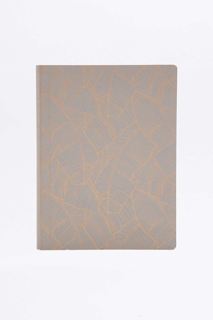 nuuna Banana Leaves Notebook