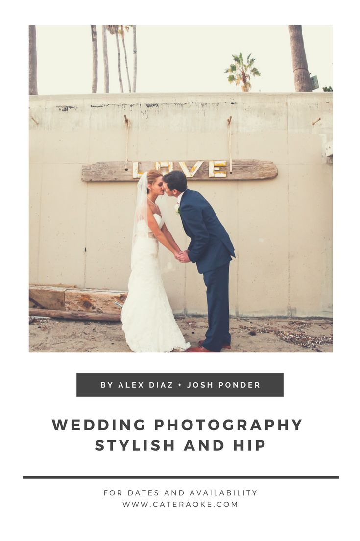 This is a very popular wedding venue so we do recommend booking with Dukes Malibu at least a year in advance to make sure you get your special date. Photo by Wedding Photographer Alex Diaz and Josh Ponder with Cateraoke Weddings + Events