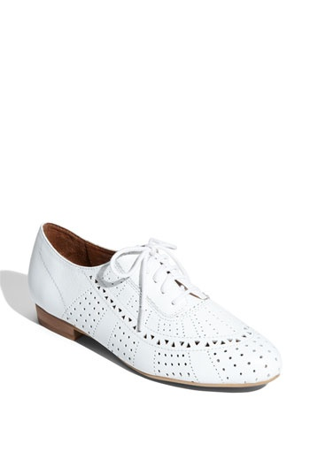Oxfords: Kinda Obsession, Footwear Inspiration, Jeffrey Campbell, White Oxfords, Campbell Miller