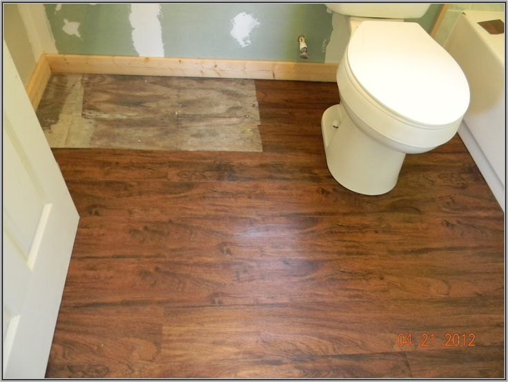 Can You Install Vinyl Plank Flooring In A Bathroom Floor Decoration From  How To Install Vinyl Part 95