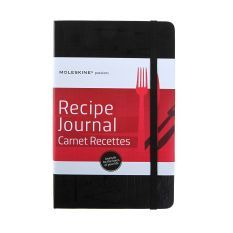 Moleskine recipe journal, A5 - Yuppiechef registry