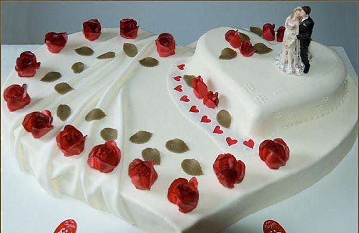 Hochzeitstorte Herz