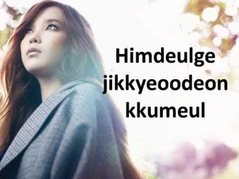 IU- Someday with lyrics (Dream High OST)
