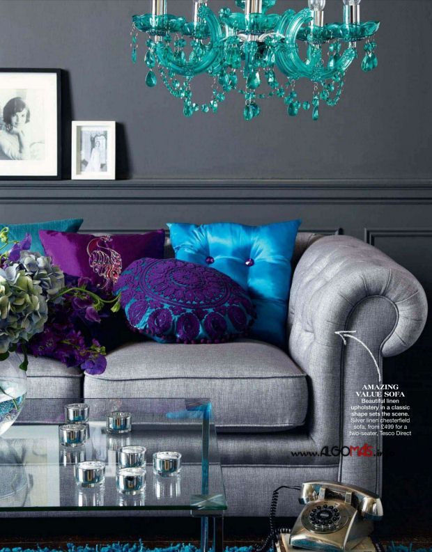 Purple And Blue Bedroom Color Schemes 253 best combo of blue & purple interior/exterior decorating ideas