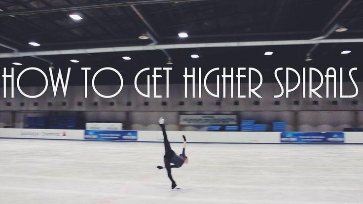 Figure Skating: How To Get Higher Spirals