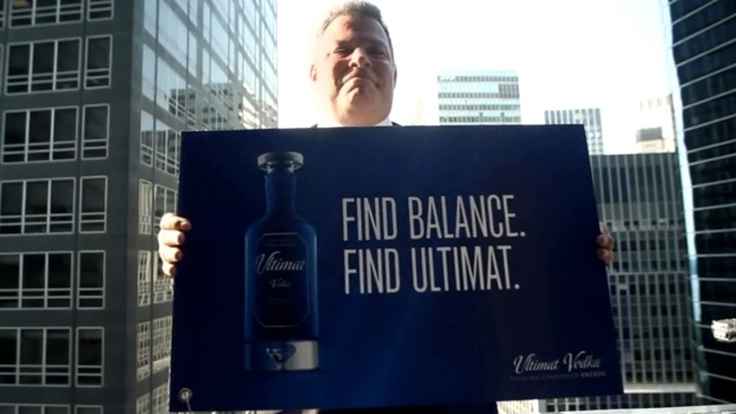 Ultimat Vodka Hits Overachievers Where They Live—The Office