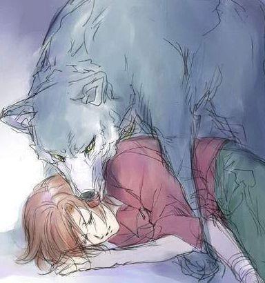 Tsume and Toboe - Wolf's Rain