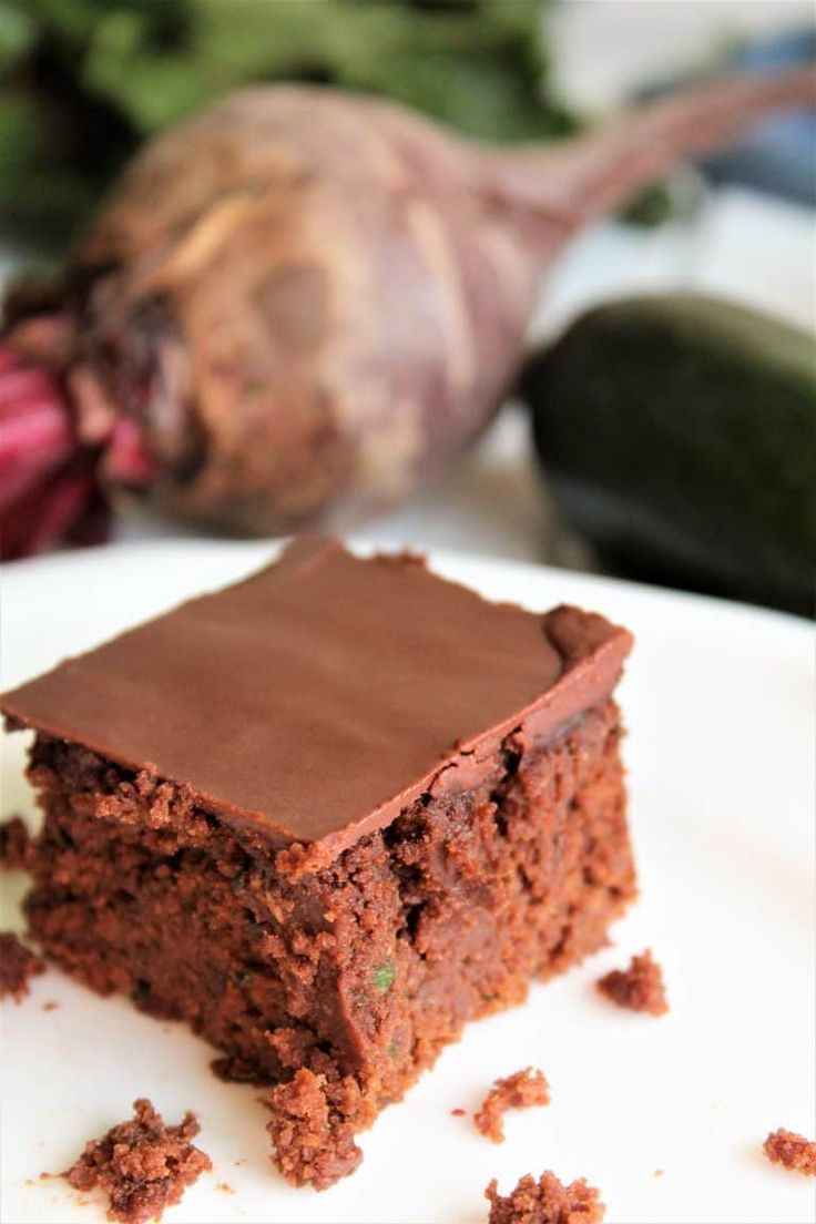 This veggie brownies recipe is one of those that you must taste to believe. Packed with 2 cups of zucchini and a cup of beets, you wouldn't think that they could taste like brownies. Not only do they taste like brownies, they are my favorite vegan brownie recipe! They come out perfect with gluten free or wheat flour and are soy free too! thehiddenveggies.com