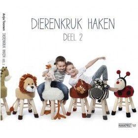 Dieren Kruk Haken Deel 2 (reserveer nu) Perapasha.nl Nu bestellen,de volgende werkdag in huis