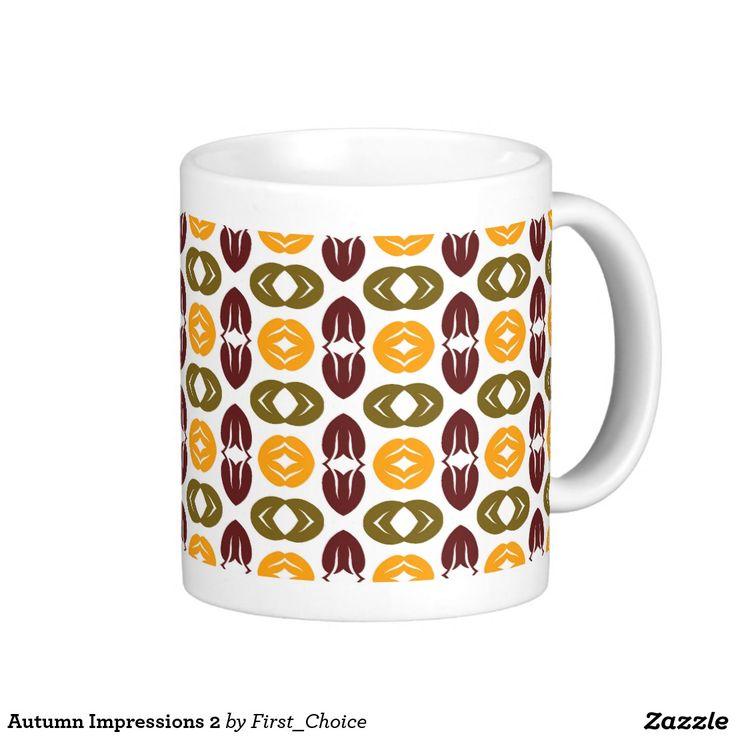 Autumn Impressions 2 Classic White Coffee Mug
