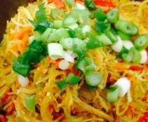 Recipe rice noodle with veg and egg quirky jo by thermo-envy - Recipe of category Main dishes - vegetarian