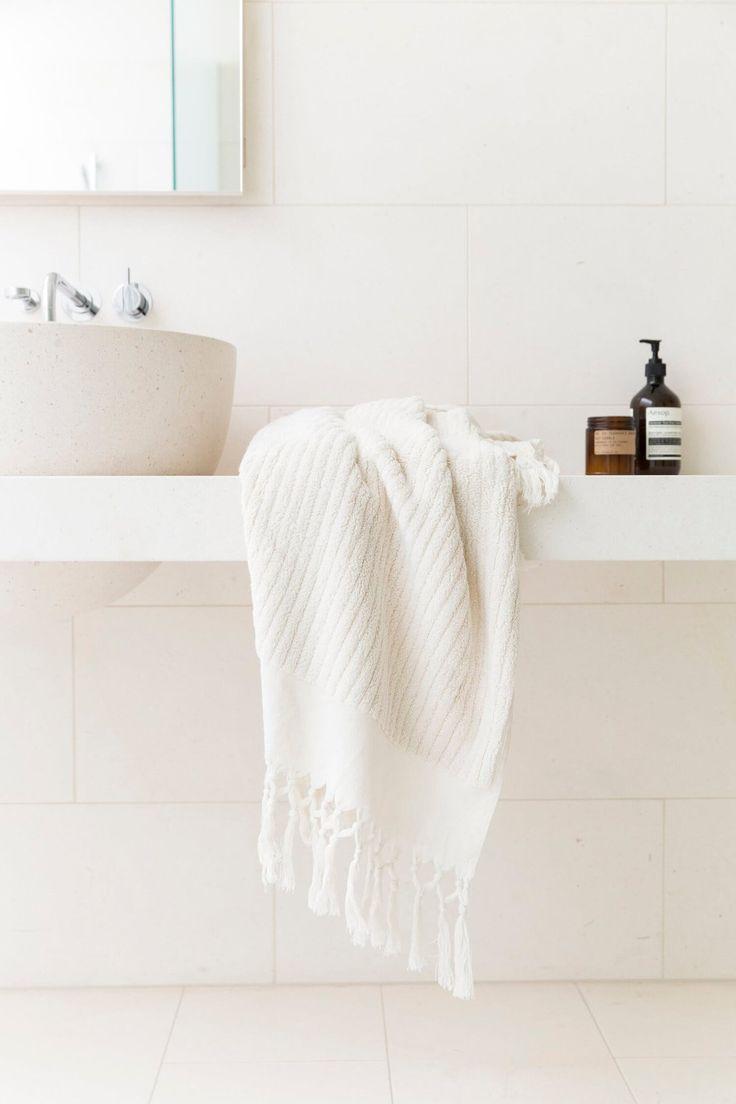 Ecru, Bath Towel