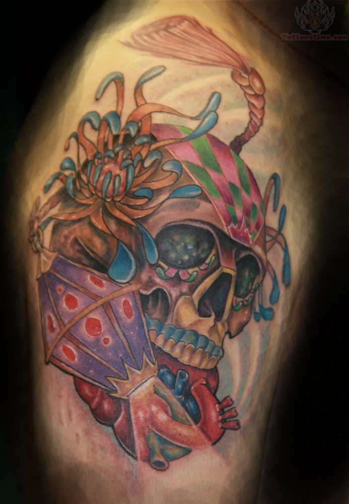 30 Best Sugar Skull And Roses Tattoo Images On Pinterest