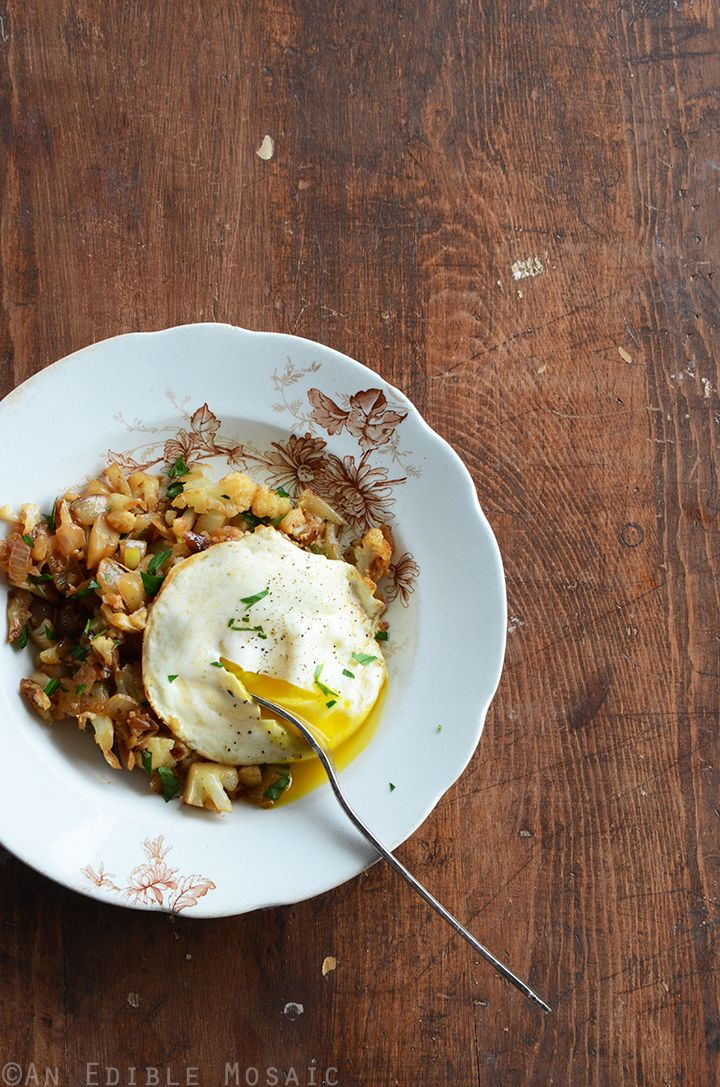 Cauliflower Hash + A Beautiful Experience at a Syrian Restaurant in Kuwait