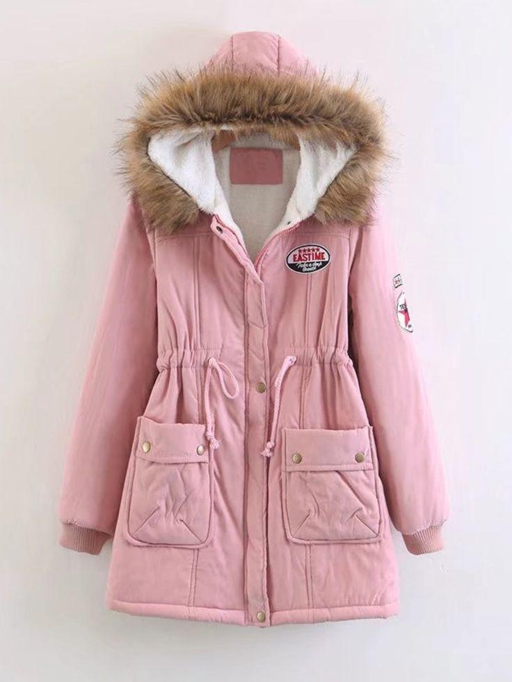 Shop Faux Fur Hooded Parka Coat online. SheIn offers Faux Fur Hooded Parka Coat & more to fit your fashionable needs.