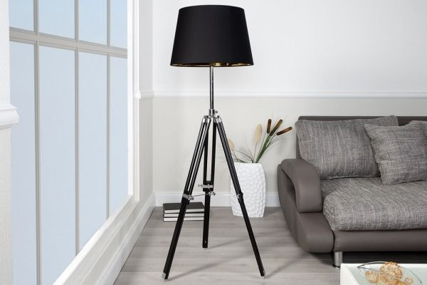 Lampa Podłogowa Frame Black