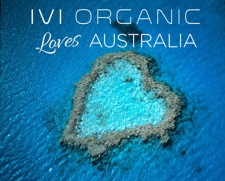 IVI ORGANIC Loves Australia #HappyAustraliaDay everyone! Spread the love Xx #Summer #ProudToBeAustralian #AustralianMade #AustralianBorn #AustraliaDay2015 #GreatBarrierReef #Australia