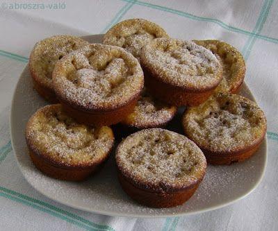 Kipróbált és bevált receptek ...: Csokis palacsinta muffin