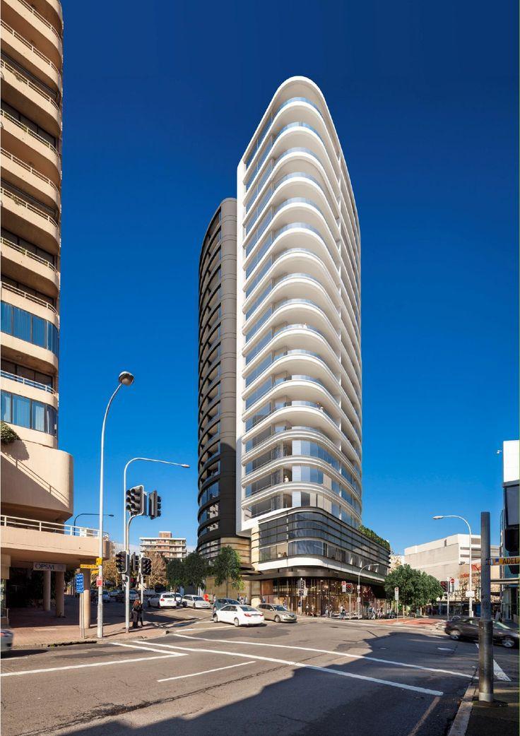 Proposal Aqua, Bondi Junction, Sydney Bondi junction