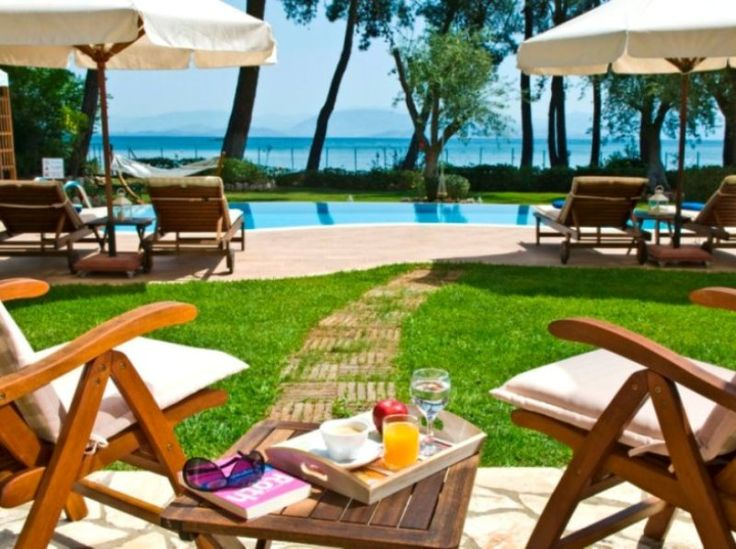 S & O SEASIDE #LUXURY  #VILLAS - #CORFU  Among lush vegetation and in a stunning natural environment, the S & O Private Villas constitute the ideal choice for luxurious accommodation in Corfu.