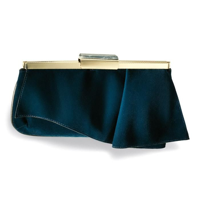 VIDA Leather Statement Clutch - Woodford Green by VIDA m20SyuaJ