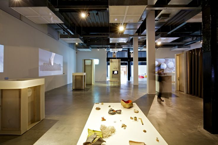 Neil Brownsword 'Salvage Series' in 'Real to Reel: film as a material in making' - a Crafts Council Touring Exhibition @ The National Centre for Craft & Design - image by Sophie Mutevelian