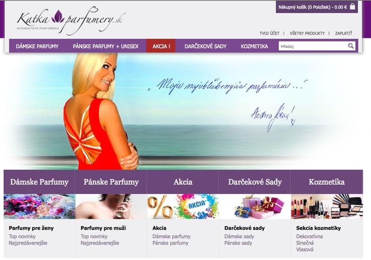 www.Katkaparfumery.sk