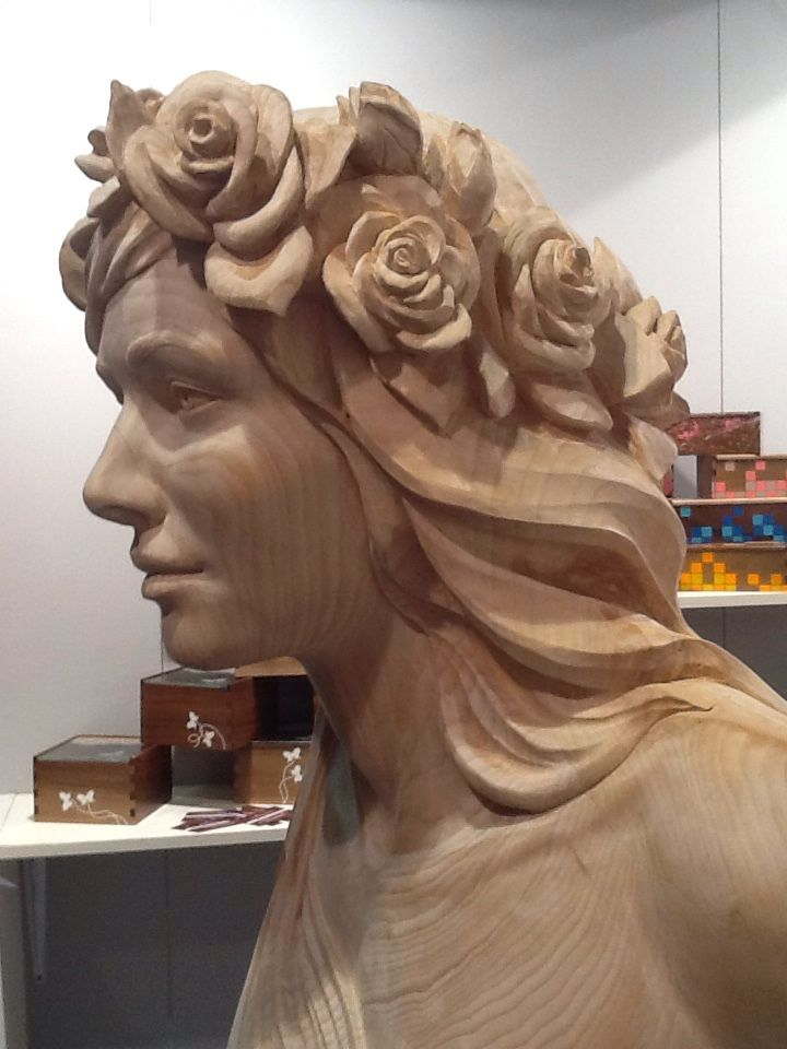 Figurehead carved by Stefano Arnodo, Italy http://www.arnodosculture.it