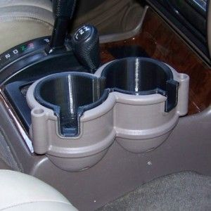 91-97 Toyota LandCruiser Double Cup Holder
