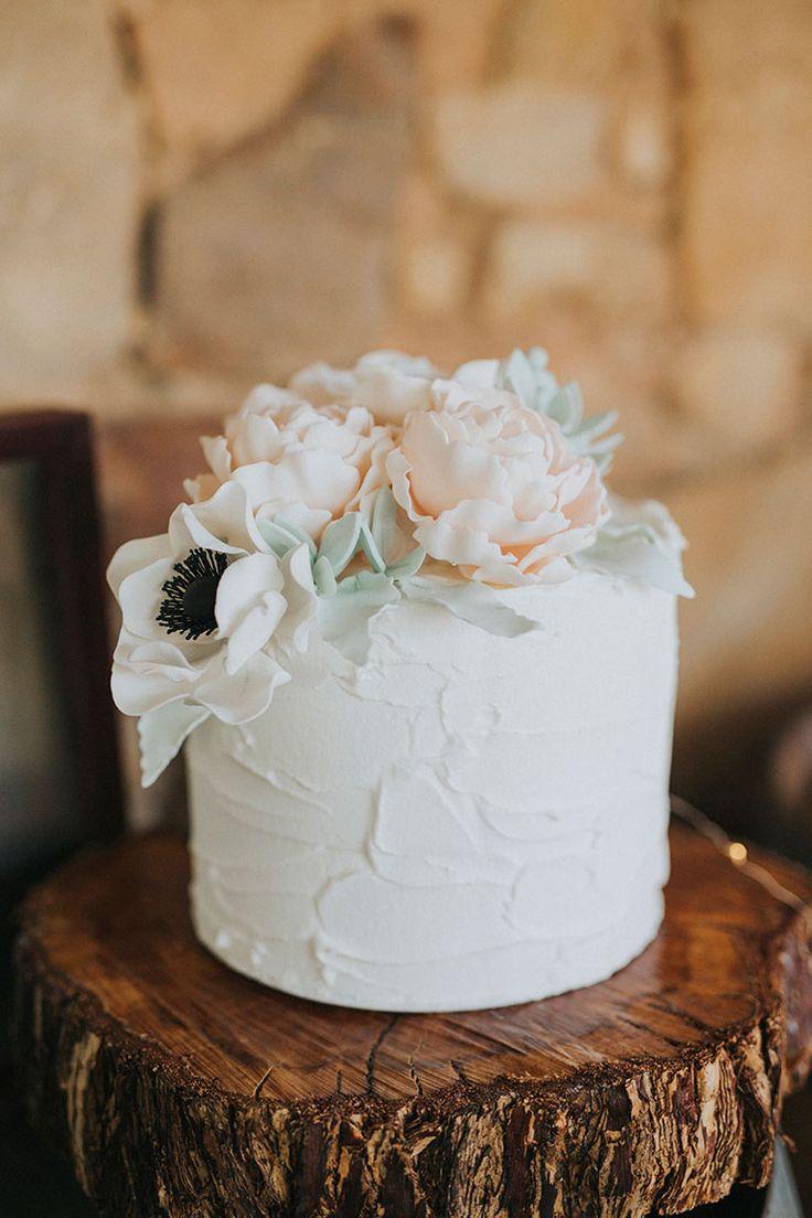 Kuchendekoration inspo! Liebe Live Liebe || Rustikale florale Hochzeit Inspiration mit …   – I DO