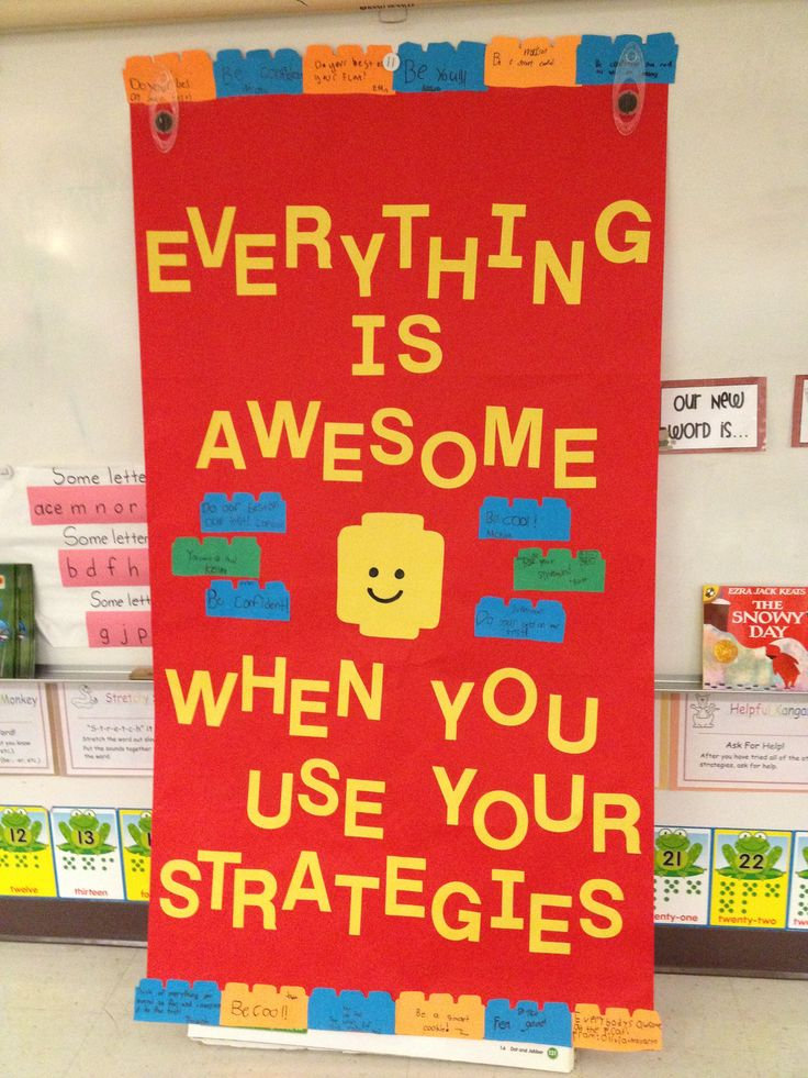 "Test Motivational Poster based on The Lego Movie song, ""Everything is Awesome!"""