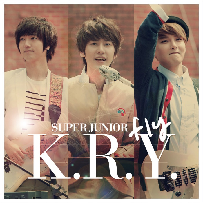 Super Junior K.R.Y. (Kyuhyun. Ryeowook. Yesung) Just bought this song actually!! So great