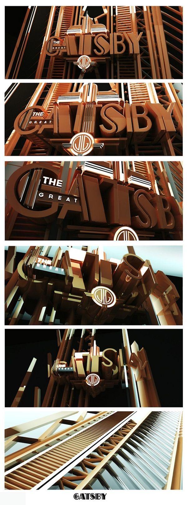 Design Studio Reveals The Branding Process Of 'The Great Gatsby' - DesignTAXI.com