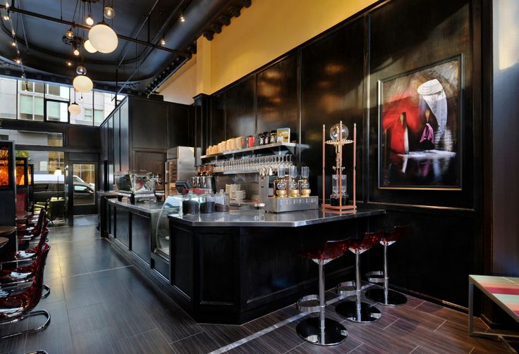 Ma'velous coffee bar in San Francisco.   A gorgeous & engaging space where you can order our newer flavor, Cocoa Raspberry Love, for breakfast-- or an afternoon snack!