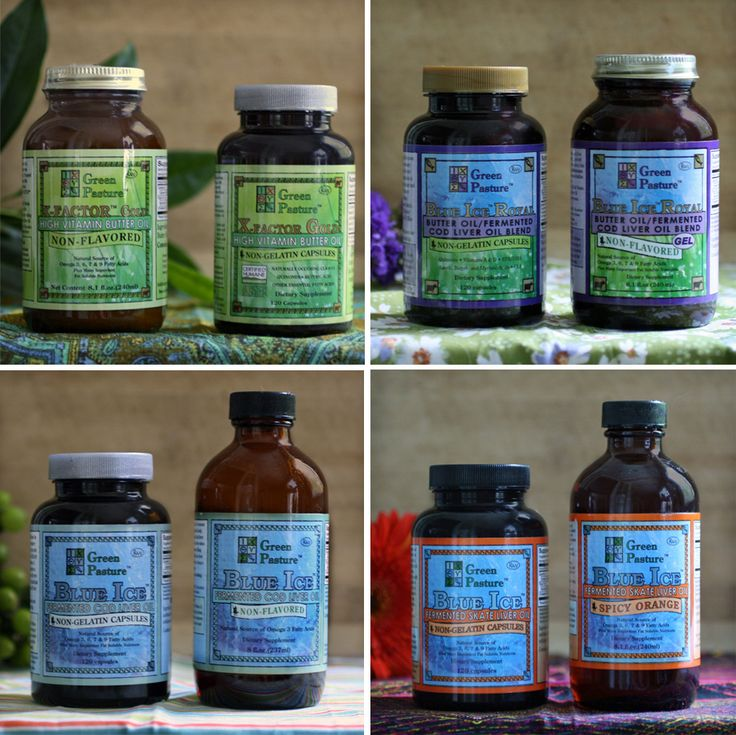 fermented cod liver oil is for treating my hairline cracked tooth___ One big happy Green Pasture's family!