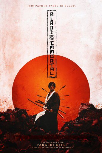 Blade of the Immortal (2017) - Watch Blade of the Immortal Full Movie HD Free Download - Movie Streaming Blade of the Immortal (2017) full-Movie Online HD. ⊖· Movie by Warner Bros., Rakuei-sha, TV Asahi, Recorded Picture Company (RPC)