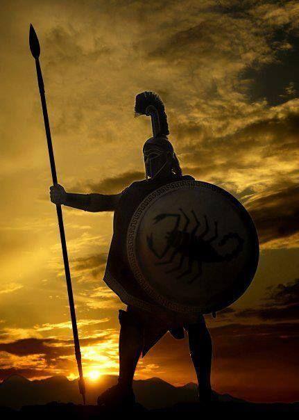 The Helene Soldier, fighting  against slavish barbaric hordes for 4000 Years.