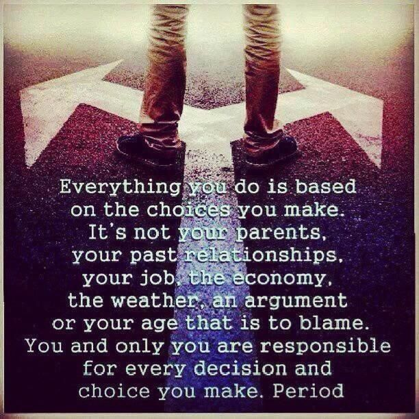 Life's all about choices #Quotes