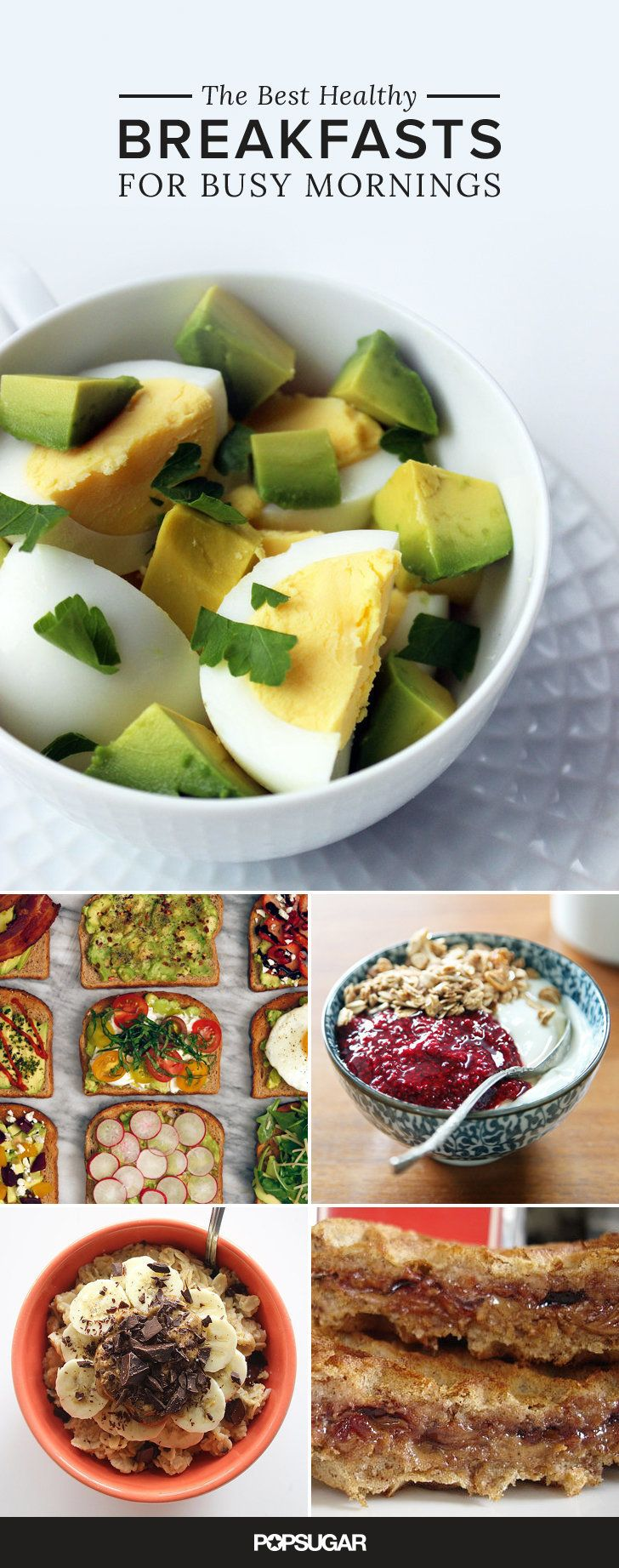 Your mornings just got easier with these delicious breakfast options!