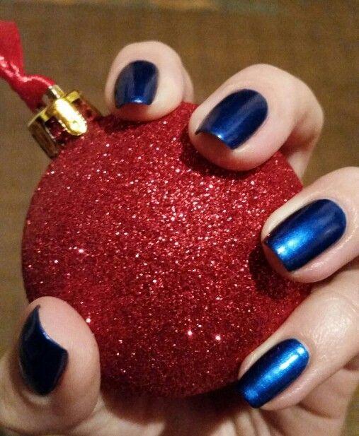 Ciaté - Birthday Blue nails