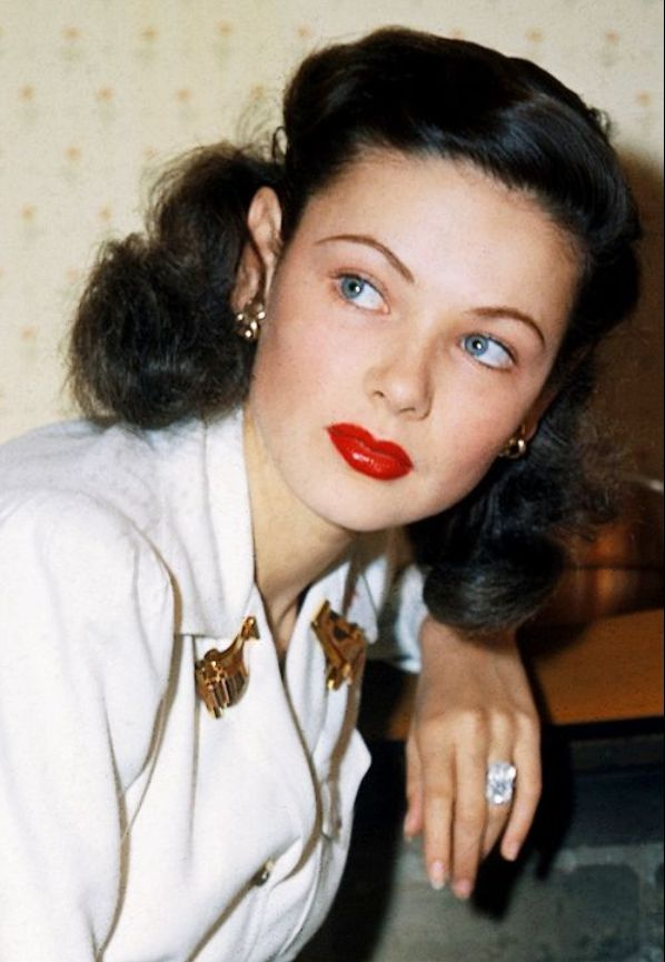 Gene Tierney 1940s Actress Album On Imgur Vintage Hairstyles Gene Tierney Hollywood Glamour