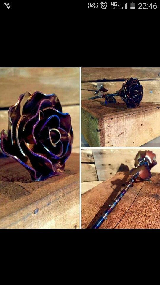 CMS LLC on facebook. Love these welded roses!!