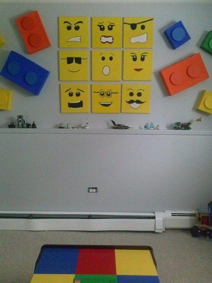 25 best ideas about lego theme bedroom on pinterest for Diy boys bedroom ideas