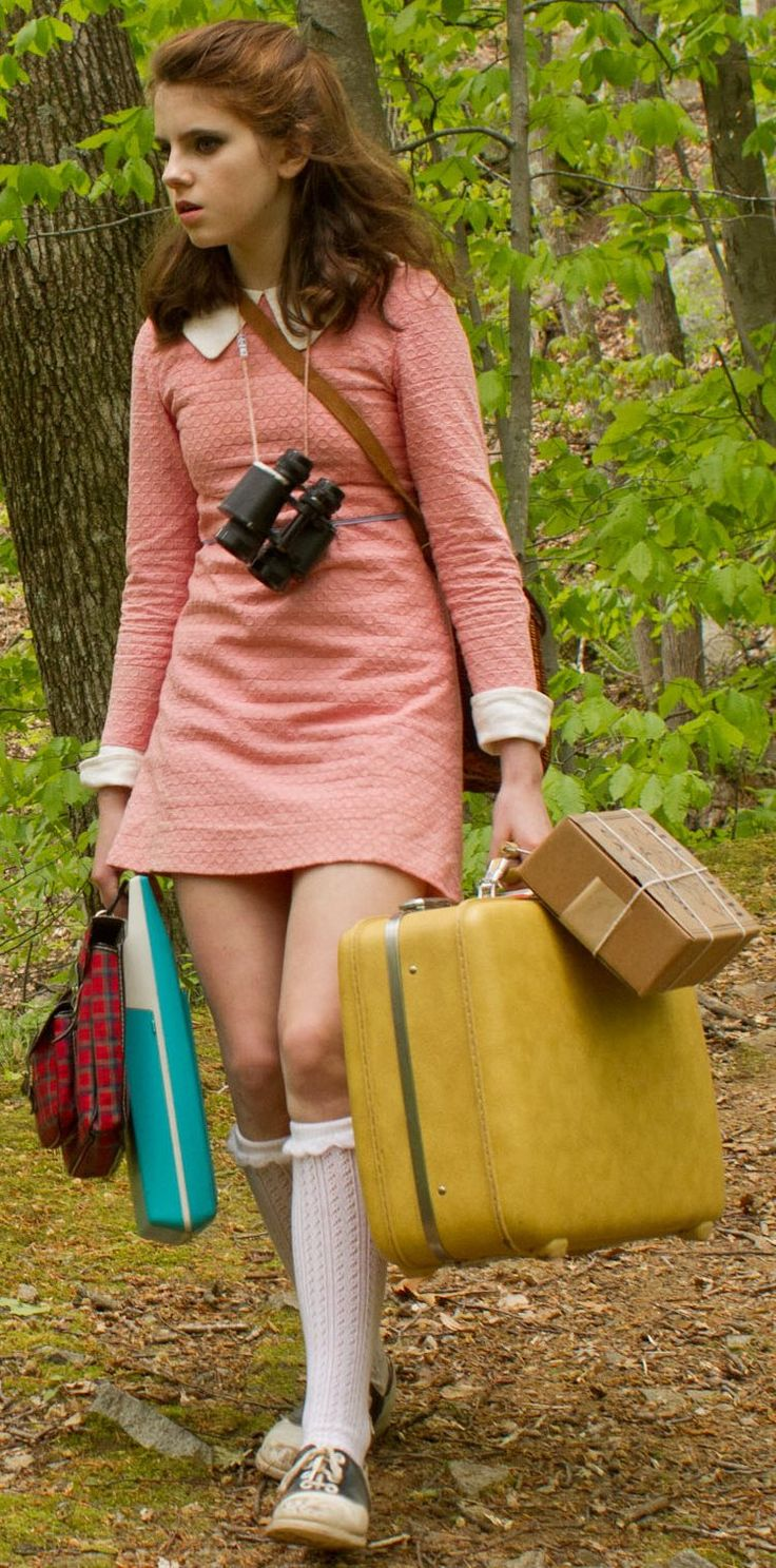 Kara Hayward as Suzy Bishop in Moonrise Kingdom (2012) - costume designer Kasia Walicka Maimone